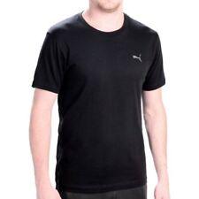 Magliette da uomo nere PUMA in misto cotone