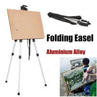 Adjustable Folding Art Tripod Painters Easel Stand Board Display Artist w/ Bag
