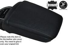 Cuciture Nero in Pelle Bracciolo Coperchio Pelle della copertura si adatta a FIAT BRAVO II MK2 2007-2014