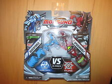 Monsuno Core-Tech 2-pack Clipse Quickforce spiderwolf 2 cartas Giochi Preziosi!