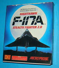 F-117A Nighthawk Stealth Fighter 2.0 - Commodore Amiga 500 A500 - PAL
