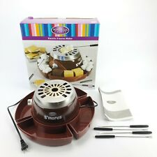Nostalgia Electrics S'Mores Maker - Roast Marshmallows Over a Flameless Heater!