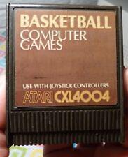 USED Basketball Atari 400 800 XL XE game retrogaming 80s arcade sports geek