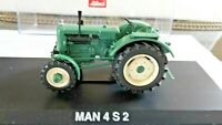 Schuco: 1/43 Scale, 02731 MAN Tractor: 4 S 2, Green diecast model in OVP/Box!