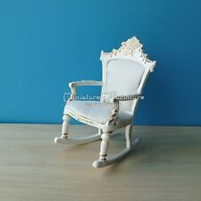 1:12 Scale Dollhouse Miniature Furniture Handcrafted Taft Nanny's Rocker Chair