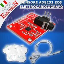 AD8232 Heart Rate ECG Monitor Sensore Elettrocardiografo KIT per Arduino PIC