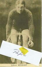 Cyclisme, ciclismo, wielrennen, radsport, cycling, ISIDORE MECHANT