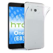 Schutz Hülle für HTC One (E8) Case Silikon Handy Cover Transparent