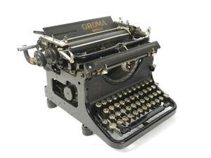 MAQUINA DE ESCRIBIR GROMA SIMPLEX AÑO 1935  TYPEWRITER SCHREIBMASCHINE