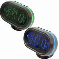 Orologio termometro interno esterno tester stato batteria auto automobile