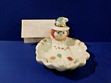 Lenox Fall /Halloween Scarecrow Candy Dish - Very Attractive
