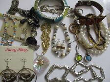 jewelry lot vintage modern mix items bracelet necklace earrings