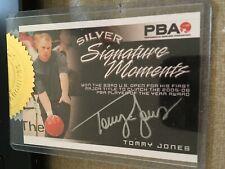 2007 PBA Bowling Signature Moments Silver Autograph Tommy Jones #/50