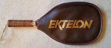 "Vintage Ektelon Magnum Racquetball Racquet 4-3/8"" Tan with Cover"