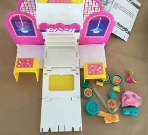 Wish World Kenner toy set 1987 vintage transforming Spice n Slice pizza parlor