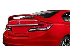 2013-2015 Honda Civic 4 Door Sedan Painted SI Style Rear Spoiler Wing BRAND NEW