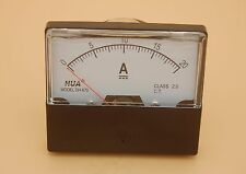 Dc 20a Analog Ammeter Panel Amp Current Meter Dc 0 20a 6070mm Directly Connect