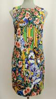 Dolce & Gabbana Floral-jacquard Dress IT40 UK8-10 New Auth