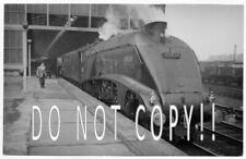 60025 A4 FALCON AT DARLINGTON EARLY 1960S  RAILWAY DIESEL PHOTO ORIG
