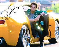 Ramon Rodriquez Transformers Signed 8x10 Photo COA