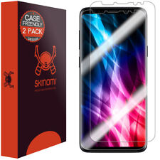 Skinomi TechSkin Clear Film Screen Protector for Galaxy S9 Case Friendly, 2-Pack