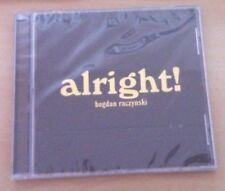 BOGDAN RACZYNSKI ALRIGHT! - REPHLEX CD NEW SEALED Aphex Twin Autechre U-ziq IDM
