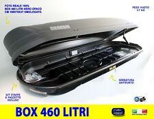 Box Baule Portatutto Porsche Cayenne - Macan tetto auto 460 l universale nero in