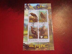 BURUNDI - 2009 EAGLES -  MINISHEET - UNMOUNTED USED MINIATURE SHEET