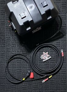HONDA B-D SERIES BATTERY RELOCATION KIT WITH BATTERY BOX