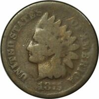 1875 Indian Cent - Very Nice Early Date Circ Collector Coin! -d992dth