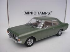 Opel Rekord C Sedan 1966 Green Metallic 1/18 Minichamps 107047000 NEW