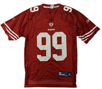 San Francisco 49ers NFL Onfield Football Jersey #99 Smith Reebok Mens Small Red