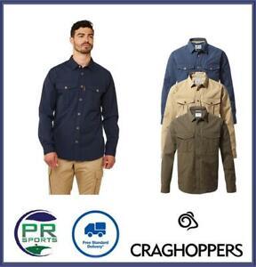 Brand New 2021 Craghoppers Mens Kiwi Ripstop Shirt
