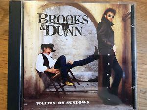 "US COUNTRY MUSIC CD BROOKS & DUNN  "" Waitin' On Sundown "" TOP"