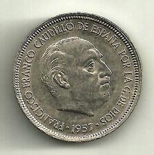 ESTADO ESPAÑOL. 5 PESETAS DE 1957(*67). MBC