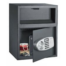 Large Safe Box Depository Drop Deposit Front Load Cash Money Vault Lock NEW