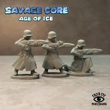 Lucid Eye Age of Ice projet Tempête bods Savage #1 Core 28 mm tempête 1