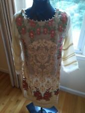 Barely used Pakistani Designer Agha Noor 4 piece suit.