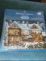 Gibsons Midnight Delivery By Steve Crisp 1000pc puzzle complete
