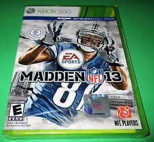 Madden NFL 13 Microsoft Xbox 360 *Factory Sealed! *Free Shipping!