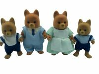 Maple Town DOG FAMILY Calico Critters Sylvanian Families RARE MINT CONDITION