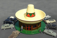 BACHMANN TRAINS 35254 N Scale Sombrero Restaurant Assembled Building FREE SHIP