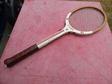 raquette de tennis vintage La Hutte by Donnay Imperial  en bois