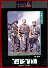 Legend Productions Three Fighting Men (Set of 3) 1/35 Model Kit