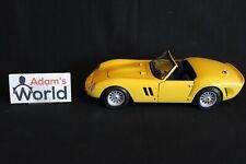 Bburago Transkit Ferrari 250 GTO Spider 1962 1:18 yellow (PJBB)