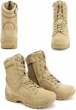 Men's Military Tactical Work Boots Hiking Motorcycle Ankle-high Combat Bootie US