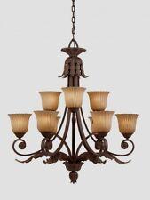 Triarch 39614 Vienna Collection Weathered Bronze 9 Light Chandelier