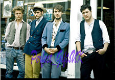 MUMFORD AND SONS BAND SIGNED 10X8 REPRO PHOTO PRINT Marcus Marshall Lovett Dwane