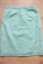 BODEN green check  pencil skirt  size 14R  new. WG644