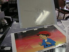 Pinocchio and the Emperor of the Night Animation Cel & hand-drawn pencil drawing